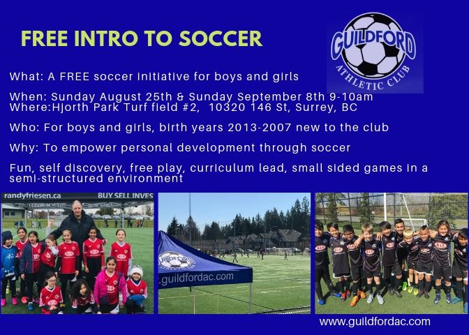 Soccer For Boys And Girls In The Surrey Area